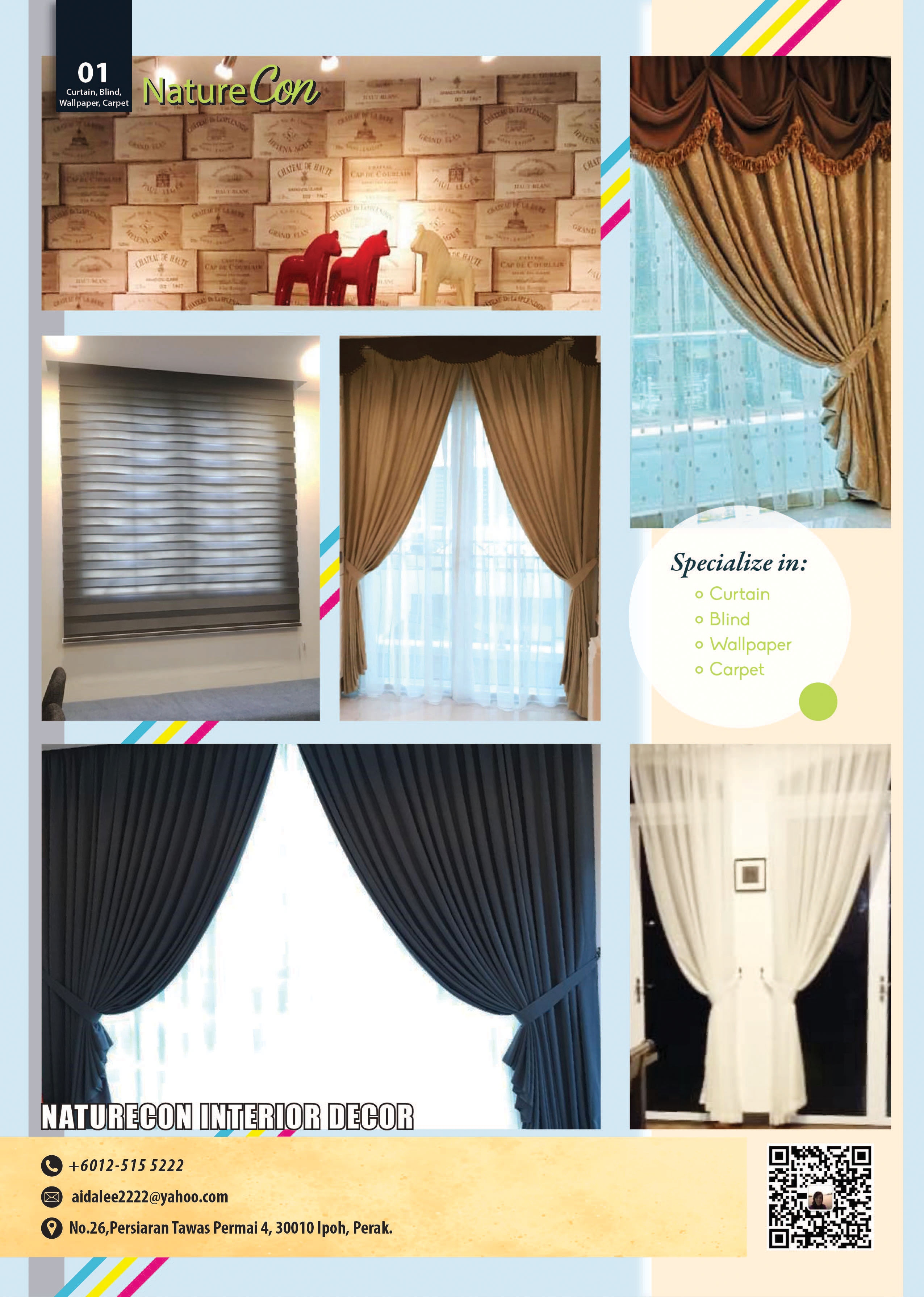Blinds Curtain Wallpaper Naturecon Interior Decor Wospace Home