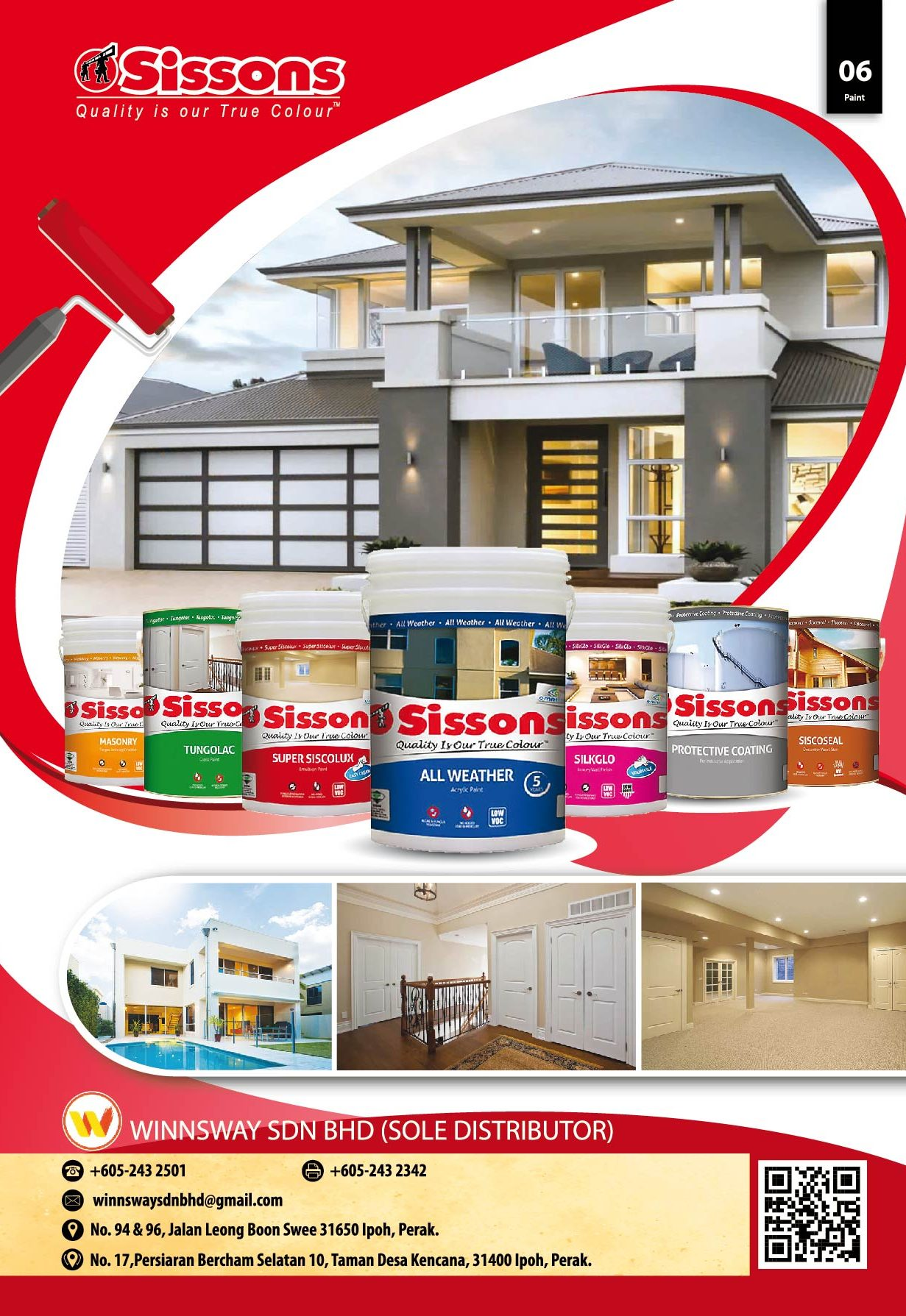 Sissons Paint Winnsway Sdn Bhd Wospace Home Living Magazine