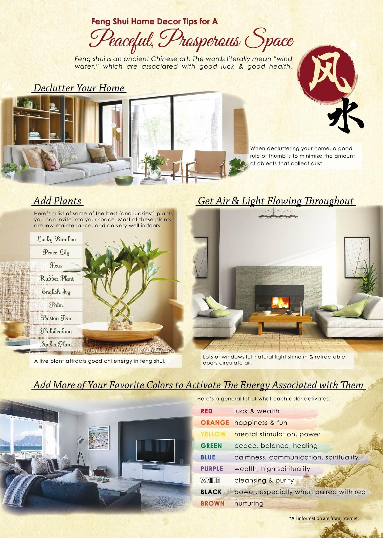 Feng Shui Home Decor Tips