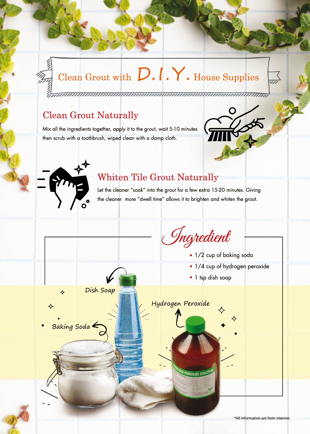 Clean Gout with DIY house supplies